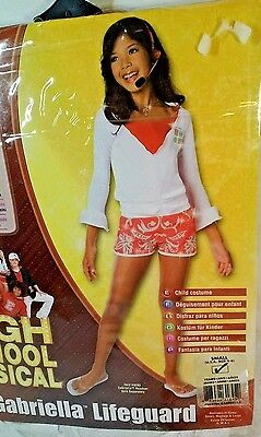 Disney High School Musical Gabriella Life Guard Child's 4-6 Costume  New - Gabriella High School Musical Kostüm