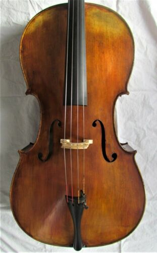 Very fine new GERMAN cello labeled THOMAS ERNST