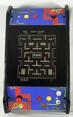 New Ms PacMan Galaga 20th Anniversary Tabletop/Cocktail Arcade 60 games 2Players