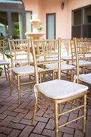 Chiavari Chairs - Special Pricing Available!