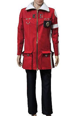 Star Trek The Wrath of Khan Admiral Kirk Field Coat Pants Halloween Costume