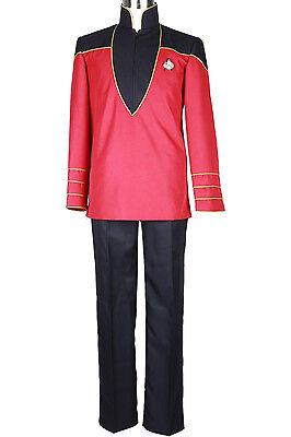 Halloween Costumes For Male (Halloween Costume Star Trek Admiral's Uniform Set Handmade for)
