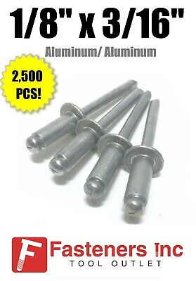 """Stainless Steel 43 Pop Rivets 1//8/"""" X 3//16/""""Emerald Green FREE SHIP!"""