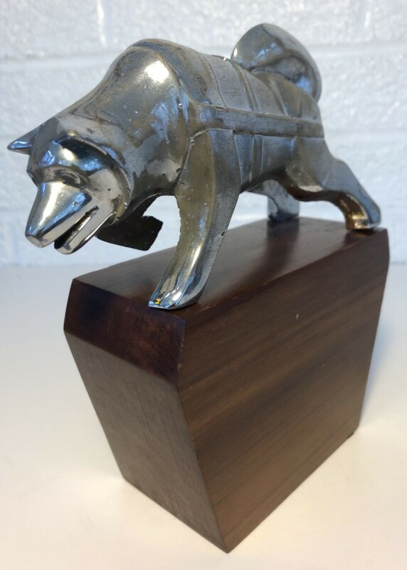 Brockway Huskie Truck Hood Ornament Husky
