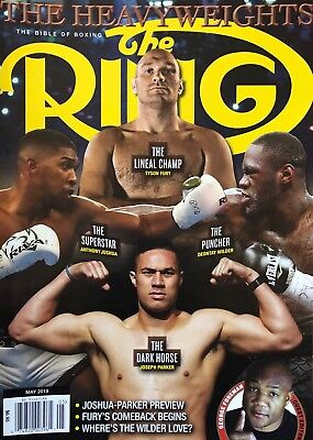 - THE RING BIBLE OF BOXING MAGAZINE GUIDE BRAND NEW MAY 2018 GEORGE FOREMAN