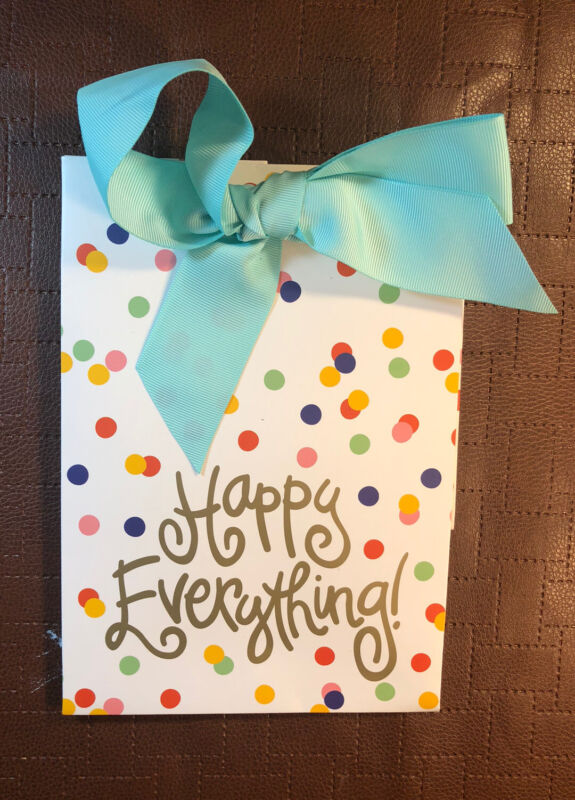 Coton Color Happy Everything Present Bag (Brand New)