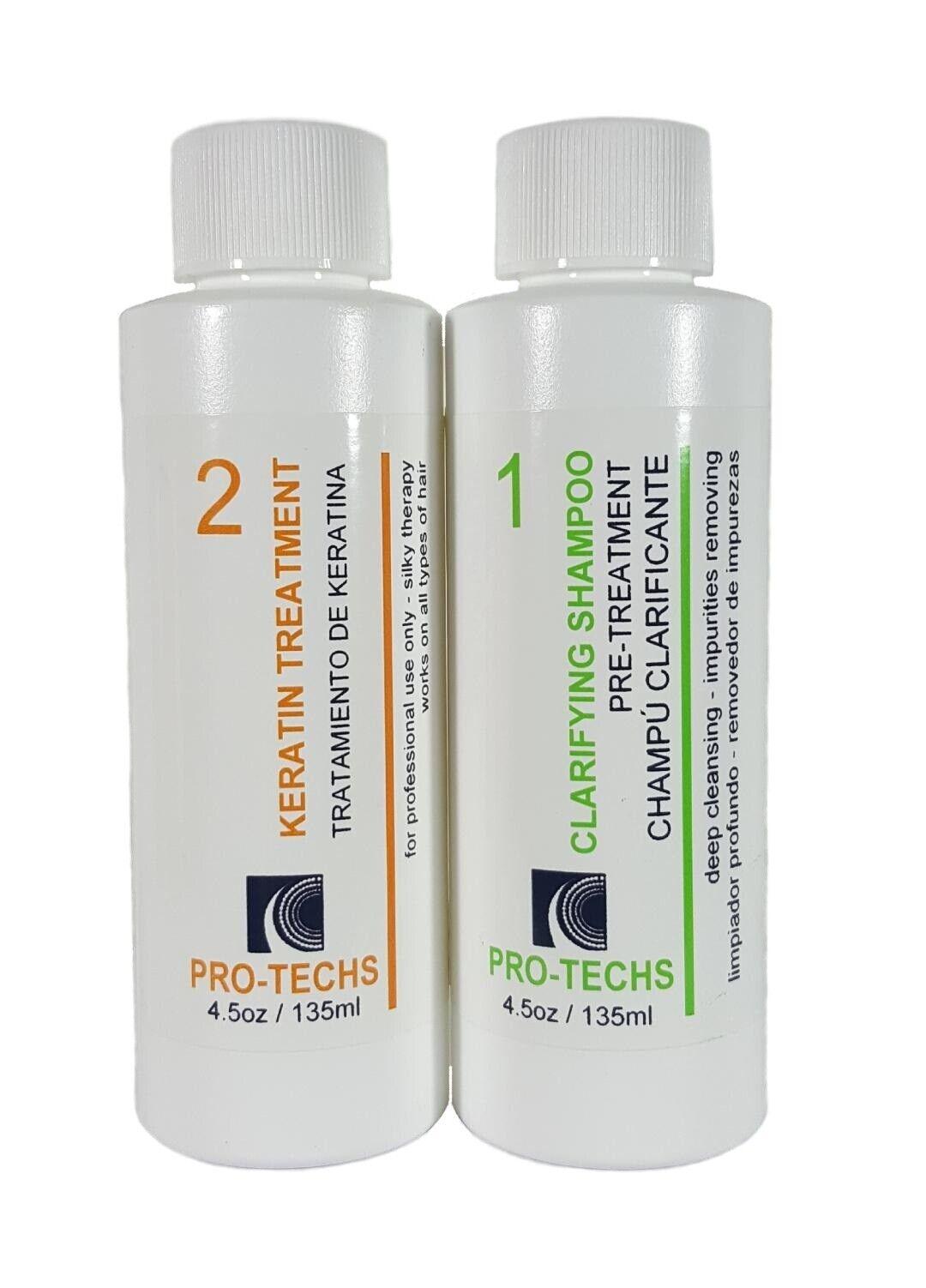 Brazilian Blowout Keratin Treatment Hair Straightener 135ml/