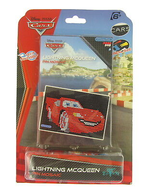 New Kids Disney Pixar Cars Lightning McQueen Pin Mosaic Suitable For Ages 6+(i) (Mcqueen Car For Kids)