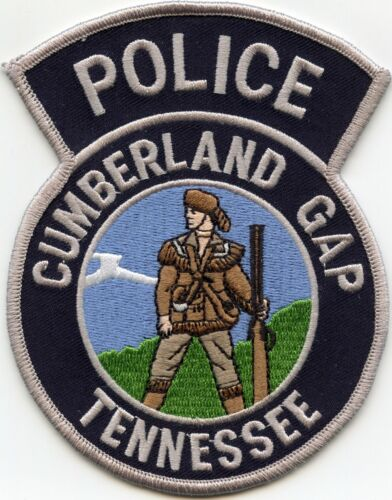 CUMBERLAND GAP TENNESSEE TN POLICE PATCH