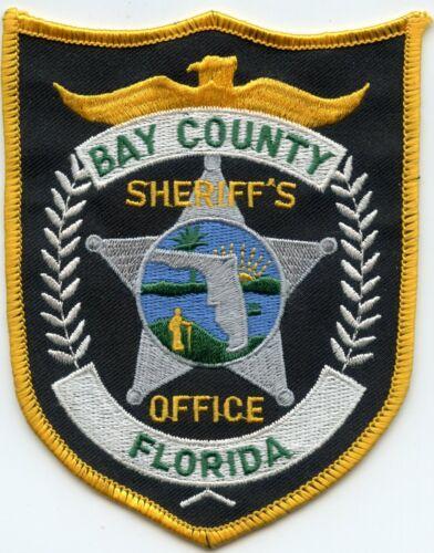 BAY COUNTY FLORIDA SHERIFF POLICE PATCH