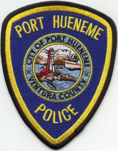 PORT HUENEME Ventura County CALIFORNIA CA LIGHTHOUSE POLICE PATCH