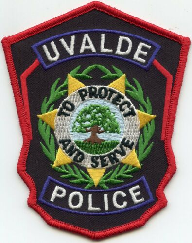 UVALDE TEXAS TX To Protect And Serve POLICE PATCH