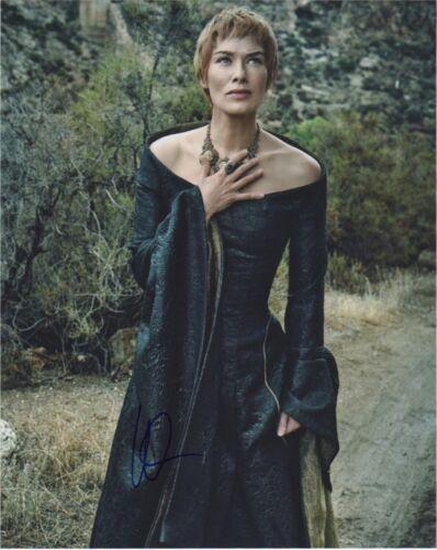 Lena Headey Game of Thrones Autographed Signed 8x10 Photo COA EF713