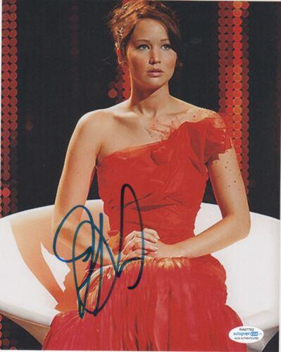 Jennifer Lawrence Hunger Autographed Signed 8x10 Photo ACOA #2