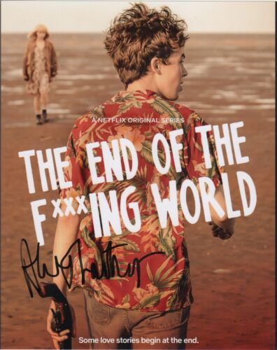Alex Lawther It's the End of the World Autographed Signed 8x10 Photo COA E10