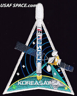 New Koreasat 5A   Spacex Original Falcon 9 F 9 Launch Satellite Mission Patch