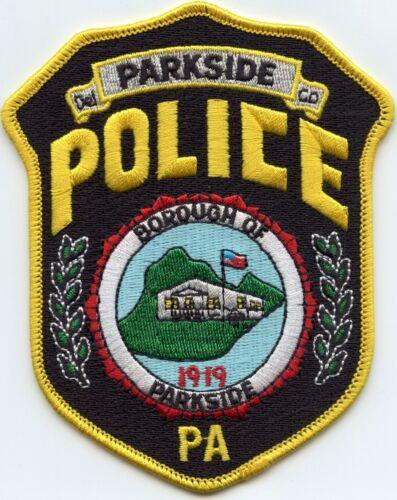 PARKSIDE BOROUGH PENNSYLVANIA PA POLICE PATCH