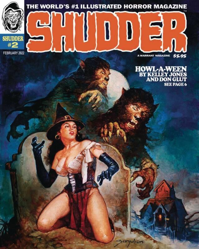 SHUDDER MAGAZINE #2 NM 10/5 2021 PRESALE