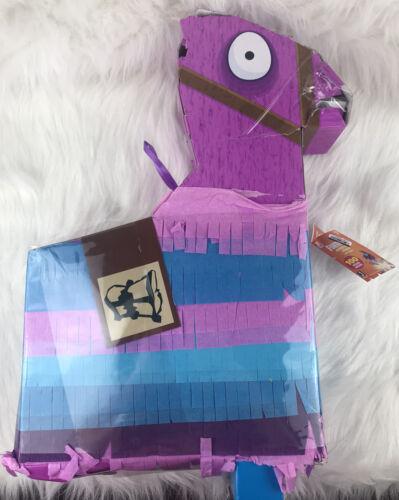 Fortnite Jumbo Loot Llama Pinata Playset 100 Pieces - New W/
