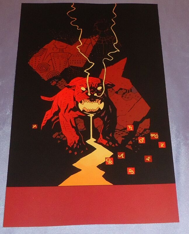 WITCHFINDER LOST AND GONE FOREVER #3~COVER ART PRINT~MIKE MIGNOLA~HELLBOY~