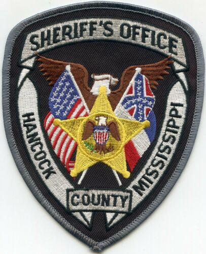 HANCOCK COUNTY MISSISSIPPI MS SHERIFF POLICE PATCH