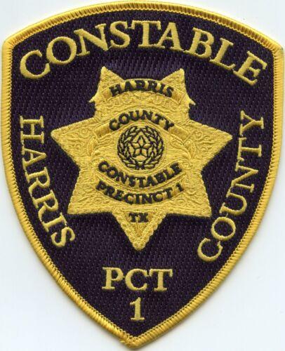 HARRIS COUNTY TEXAS TX Precinct 1 CONSTABLE sheriff police PATCH