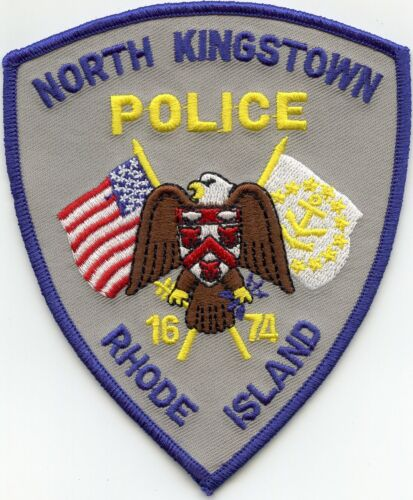 NORTH KINGSTOWN RHODE ISLAND RI POLICE PATCH