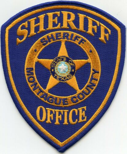 MONTAGUE COUNTY TEXAS TX SHERIFF POLICE PATCH