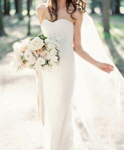 Wedding veil - ivory floor length