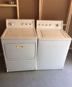 Can deliverKenmore SET: Washer/ DRyer fully working