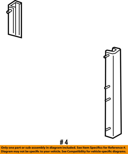 FORD OEM A//C AC Condenser//Compressor//Line-Condenser Insulator F65Z19C566AA
