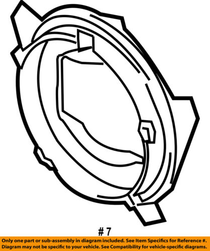 2008 Mazda 3 Headlight Assembly
