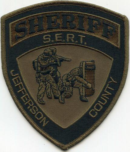 JEFFERSON COUNTY FLORIDA FL Special Emergency SERT SWAT SHERIFF POLICE PATCH