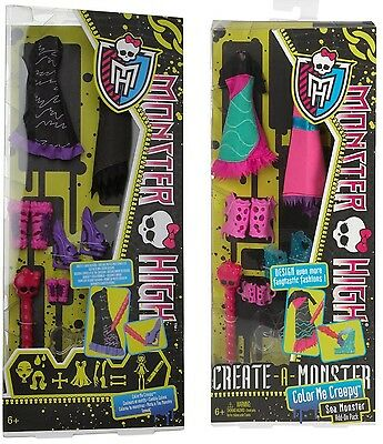 Set Monster High Color me Creepy Seemonster Werwolf,Seemonster,add-on,Create a  ()