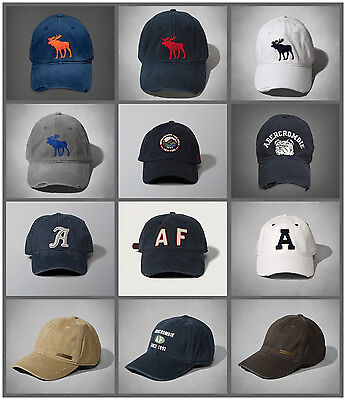 NWT Abercrombie Fitch Mens By Hollister Classic Baseball Cap AF new A F Hco