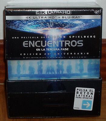 ENCUENTROS EN LA TERCERA FASE 4K ULTRA HD+BR EDICION LIMITADA NUEVO (SIN...
