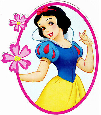 s snow white wall sticker glossy cut out border character (Snow White Cut Out)