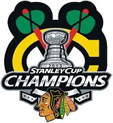 Chicago Blackhawks Stanley Cup Sticker