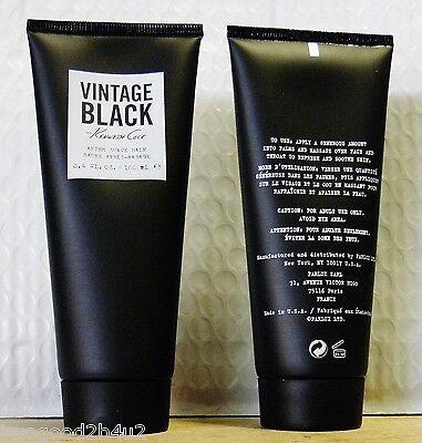KENNETH COLE  VINTAGE BLACK 6.8 SOOTHING AFTER SHAVE BAUME+