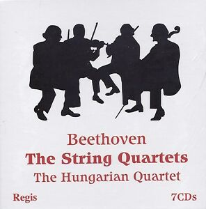 [NEW] 7CD: BEETHOVEN: THE STRING QUARTETS: THE HUNGARIAN QUARTET