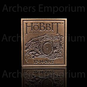 Hobbit-An-Unexpected-Journey-Collectors-Pin-Badge-Weta-Collectables-LotR-NEW