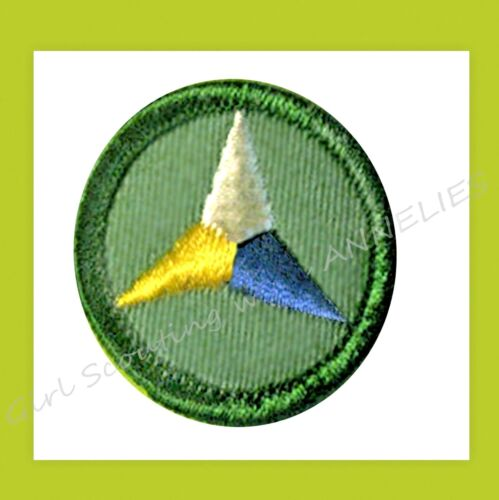 PERSONAL HEALTH Junior Girl Scout NEW Badge 3-Point Star 1960-79 VOLUME DISCOUNT