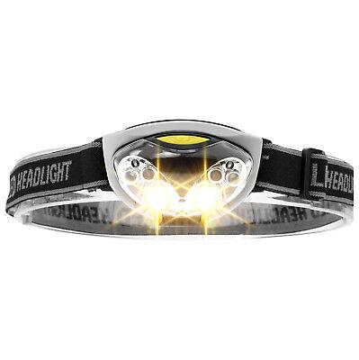 ‼️XAiOX® LED Stirnlampe Kopflampe 3 Modi Joggen laufen Handwerker Taschen Lampe (Handwerker Taschenlampe)