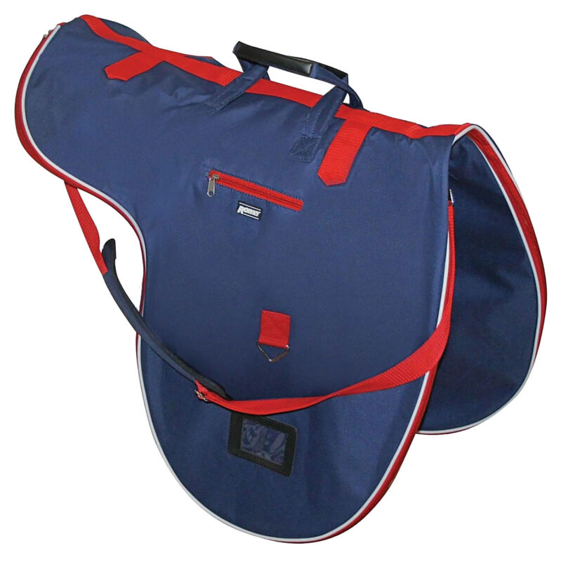 Roma Cruise Bag Saddle - Navy Red White One Size