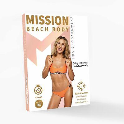 SALE!!! Ewa Chodakowska Mission Beach Body DVD Szybka Wysylka