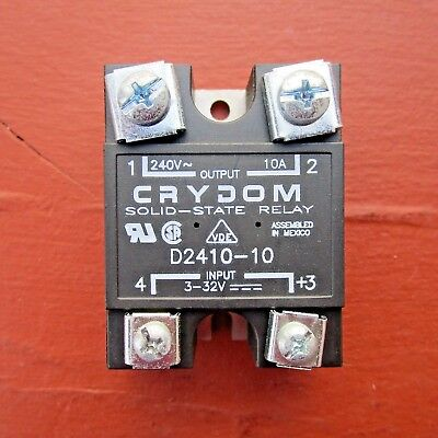 Crydom D2410-10 Ss Solid State Relay 240v 10a - New