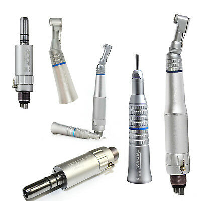 Dental Contra Angle Straight Low Speed Handpiece Kit Air Motor 24h Nsk Style