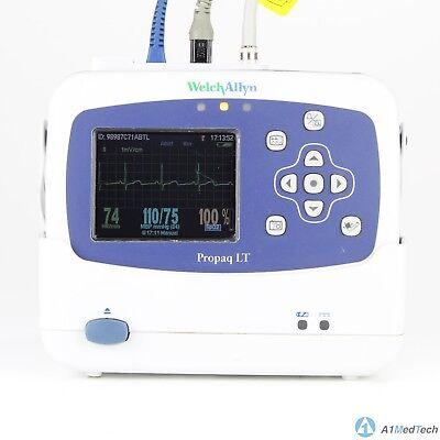 Welch Allyn Propaq Lt Vital Signs Monitor - Ecg Spo2 Nibp
