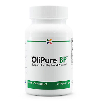 Stop Aging Now - OliPure BP -  Blood Pressure Support - 60 Veggie Caps