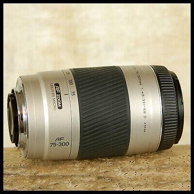 Digital SONY Alpha Minolta AF 75 - 300mm D Telephoto zoom Better 8 pin